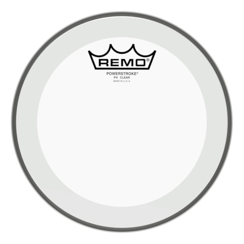 """Remo 8"""" Powerstroke P4 Clear Drumhead"""