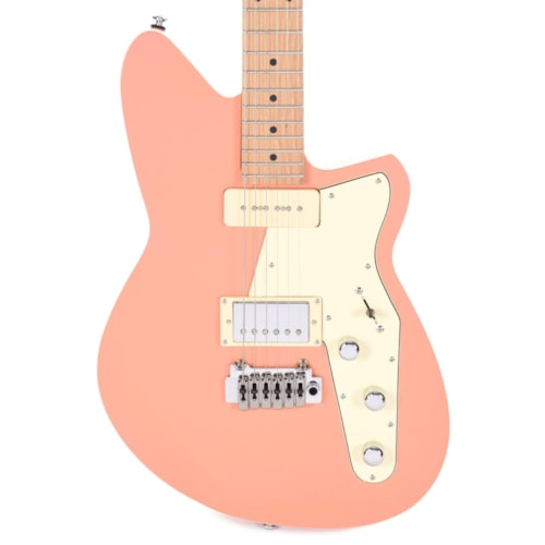 Reverend Double Agent W Coral LE w/Roasted Maple Neck