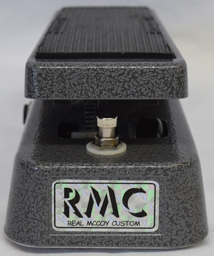 RMC Picture Wah Silver & Black