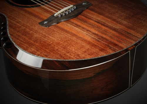 Ryan Nightingale Grand Soloist Brazilian Rosewood/Sinker Redwood