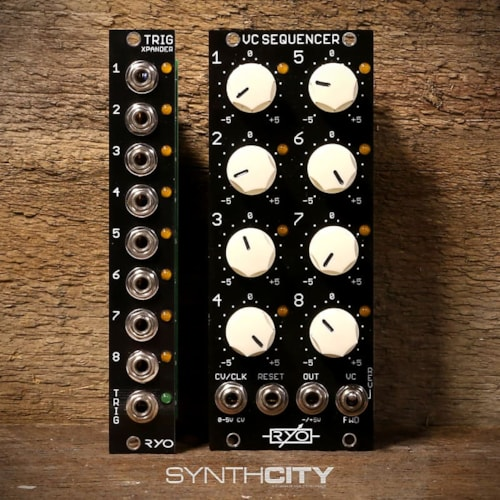 RYO VC Sequencer w/ Trig Xpander