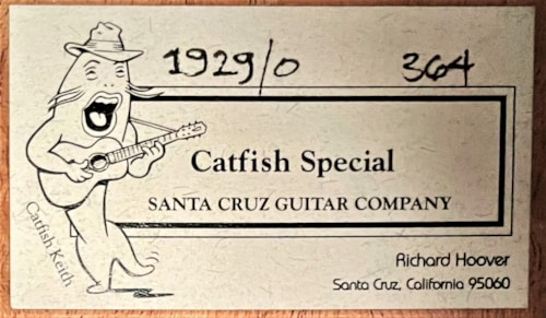 Santa Cruz The Catfish Special O
