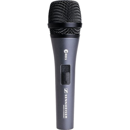 Sennheiser e 835S Handheld Cardioid Dynamic Microphone with On/Off Switch
