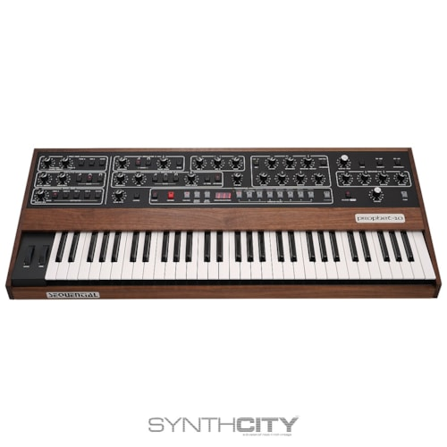 Sequential Prophet 10 Reissue 61-Key Polyphonic Analog Synthesizer