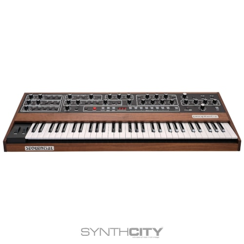 Sequential Prophet 5 Rev 4 Reissue 61-Key Polyphonic Analog Synthesizer