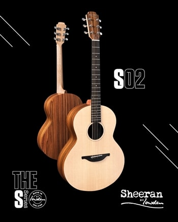 Sheeran Sheeran by Lowden S-02 in Santos Rosewood and Sitka Spruce