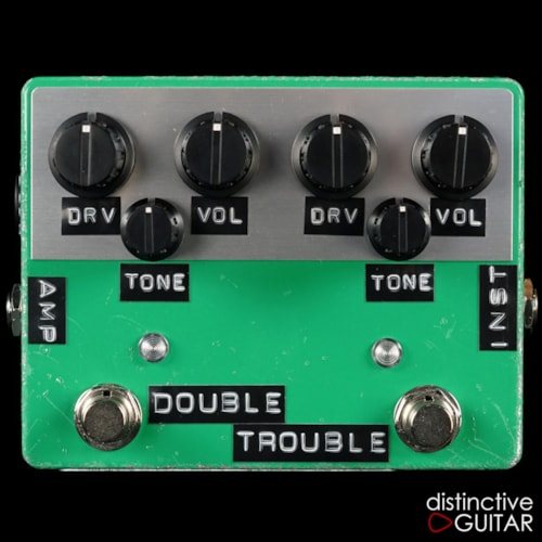 Shin's Music Double Trouble Overdrive Green Relic