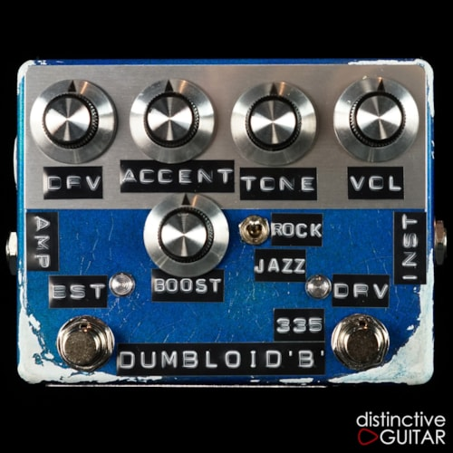 Shin's Music Dumbloid 335 Boost Lake Placid Blue Relic