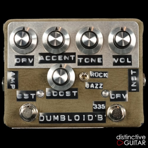 Shin's Music Dumbloid 335 Boost Olive Suede