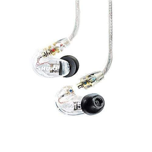 Shure SE215-CL Sound Isolating Earphones w/Dynamic MicroDriver Clear