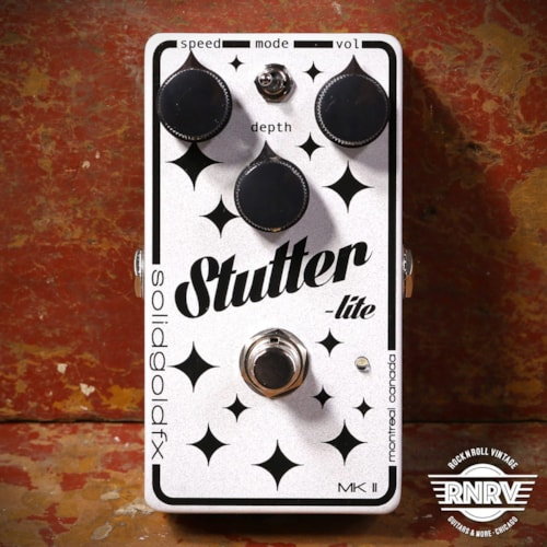 SolidGoldFX Stutter Lite MkII Cosmic White