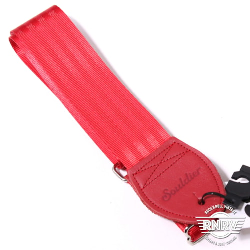 Souldier Plain Seat Belt - Red