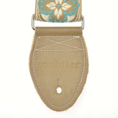 """Souldier Lotus TL/White 2"""" Strap (Taupe Belt & Taupe Ends)"""