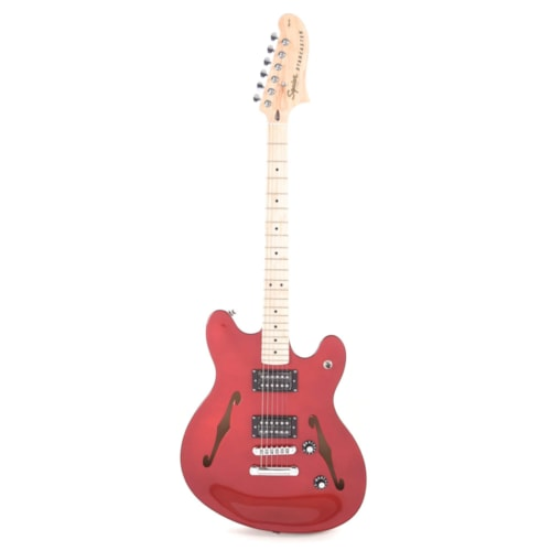 Squier Affinity Starcaster Candy Apple Red