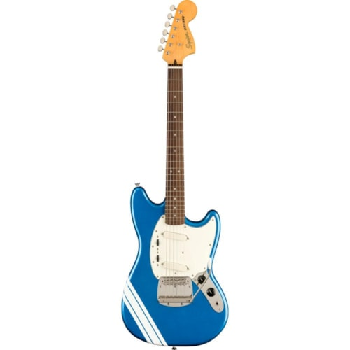 Squier Classic Vibe '60s Competition Mustang Lake Placid Blue w/Olympic White Stripes