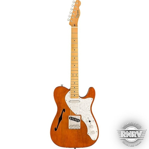 Fender Squier Classic Vibe '60s Telecaster Thinline, Maple Fingerboard, Natural