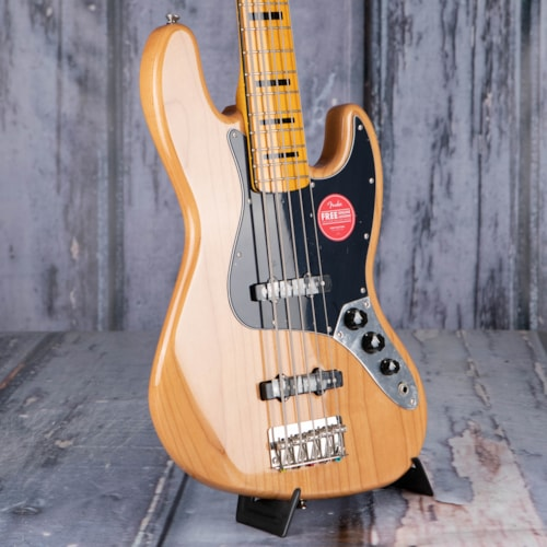 Squier Classic Vibe '70s Jazz Bass V 5-String, Natural