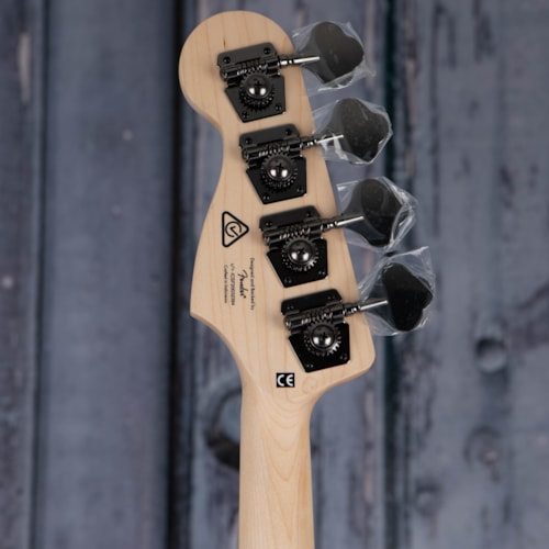 Squier Contemporary Active Jazz Bass, Flat Black