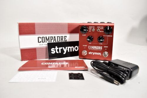 Strymon Compadre Dual Voice Compressor & Boost Electric Guitar Effects Pedal