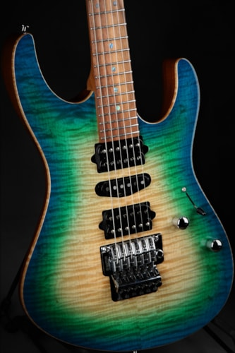 Suhr Eddie's Guitars Exclusive Roasted Modern - Island Burst