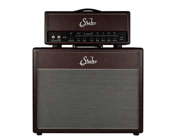 Suhr 2020 Limited Edition Hedgehog Head and 2x12 Cabinet in Wine Taurus