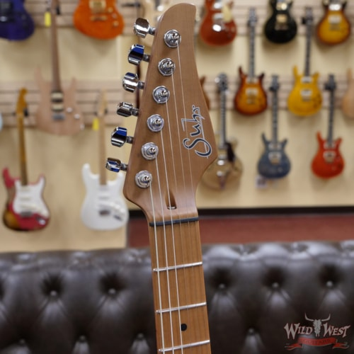 2021 Suhr Limited Edition Classic T Paulownia  Trans Shell Pink