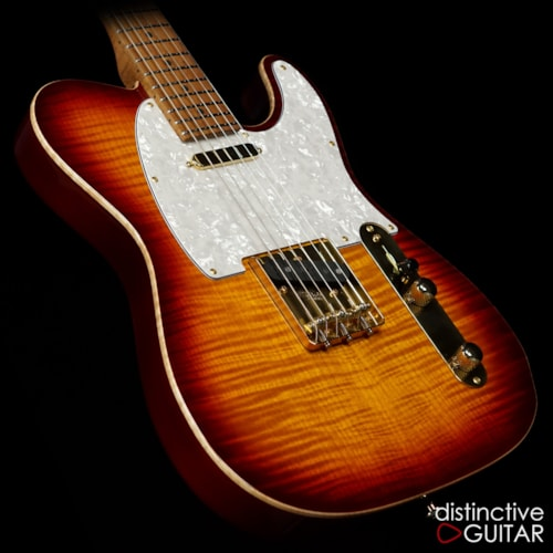 Suhr  Classic T Deluxe Ltd. Edition Aged Cherry Burst Flame
