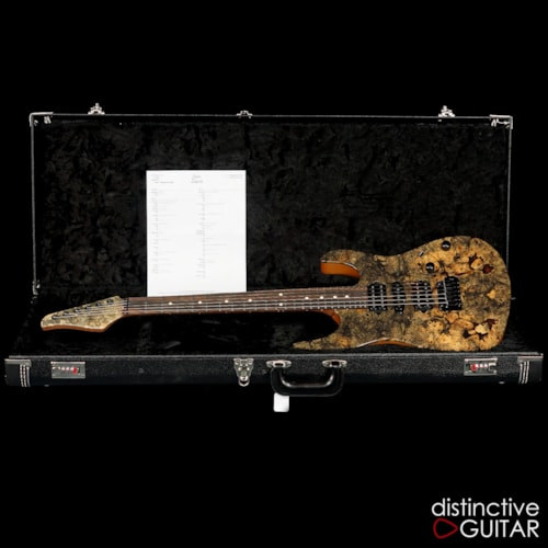 Suhr Custom Modern Buckeye Burl Natural Gloss, Brand New, Original Hard, $4,285.00