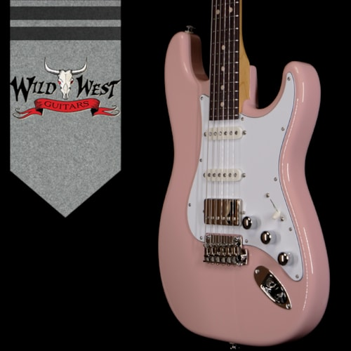 2020 Suhr Custom Classic S HSS  Matching Color Headstock Shell Pink
