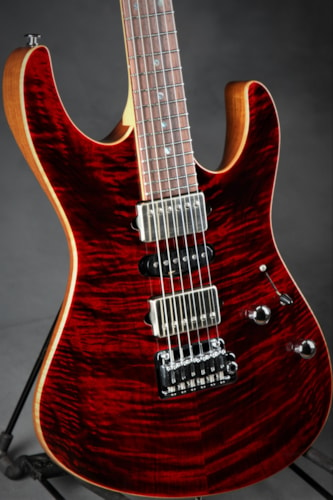 Suhr Eddie's Guitars Exclusive Roasted Modern - Chili Pepper Red