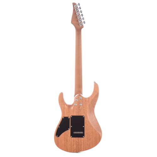Suhr Limited Edition Modern Satin Flame HSH Trans Charcoal Burst (Serial #JS1A7C)