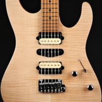 Suhr Limited Edition Modern Satin Flame - Natural