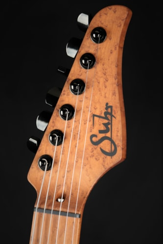 Suhr Modern 5A Roasted Birdseye Maple Neck - Trans Black