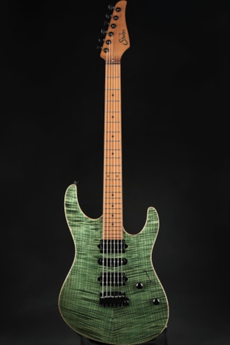 Suhr Modern Roasted - Trans Green