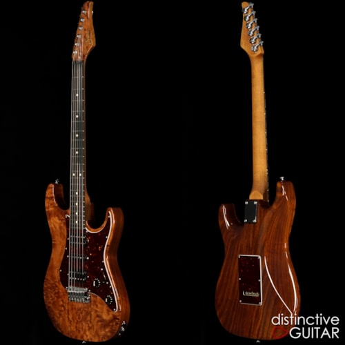 Suhr Standard Custom Natural Burl Redwood