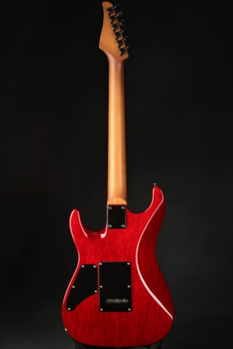 Suhr Standard Roasted/White Limba - Trans Red