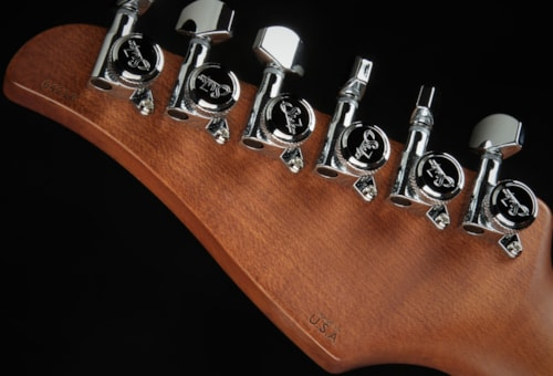 Suhr Standard Roasted/White Limba - Trans Amber