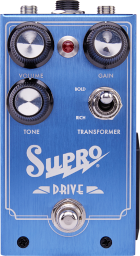 Supro 1305 Overdrive Blue