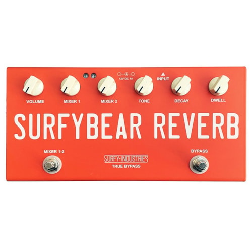 Surfy SurfyBear Compact Reverb, Fiesta Red