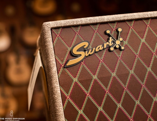 Swart Amplifier Co. Swart MOD84 Fawn/Vox Cloth w/Celestion Gold Alnico