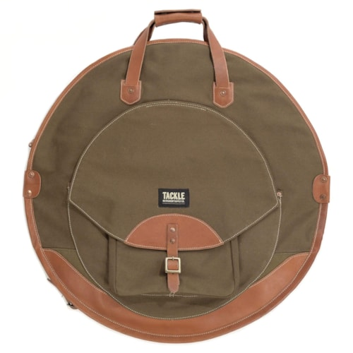 """Tackle 24"""" Backpack Cymbal Bag Forest Green"""