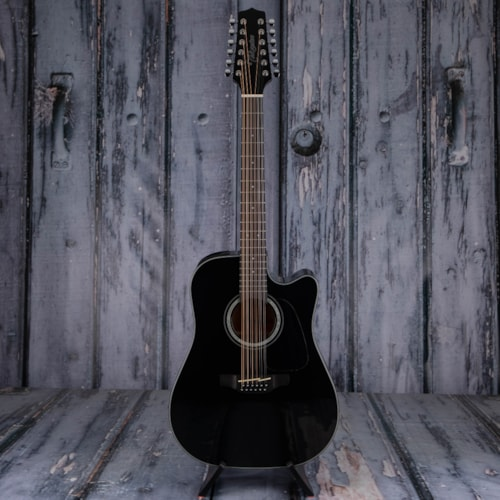 Takamine GD30CE-12 Dreadnought Acoustic/Electric, Black