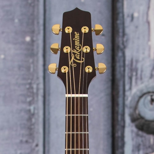 Takamine P5DC-WB Dreadnought Acoustic/Electric, Whiskey Brown