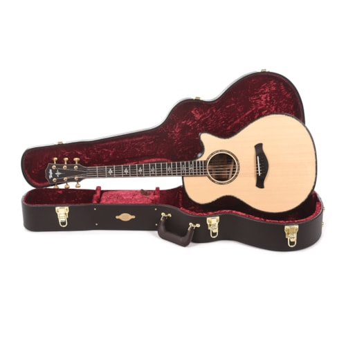 Taylor Builder's Edition 912ce Grand Concert Lutz Spruce/Rosewood Natural ES2 (Serial #1208260080)