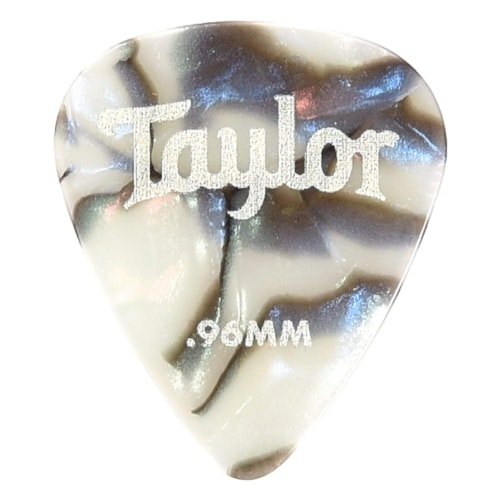Taylor Celluloid 351 Picks Abalone 0.96mm 12-Pack