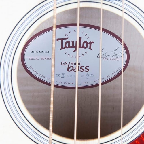 Taylor Limited Edition Mini-e Acoustic Electric Maple Bass Natural (8323)