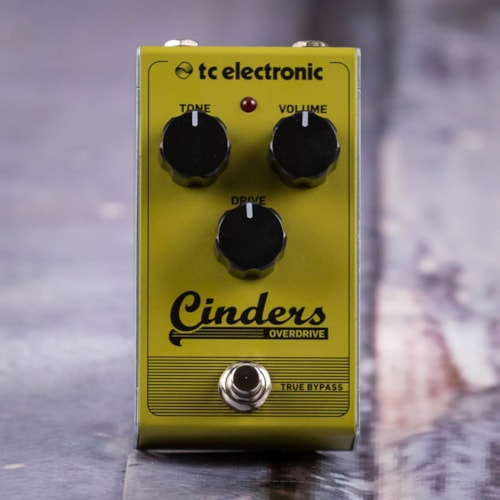 Used TC Electronic Cinders Bass Overdrive