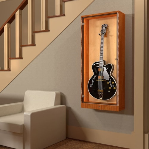The ShowCase™ Deluxe Guitar Display Cabinet