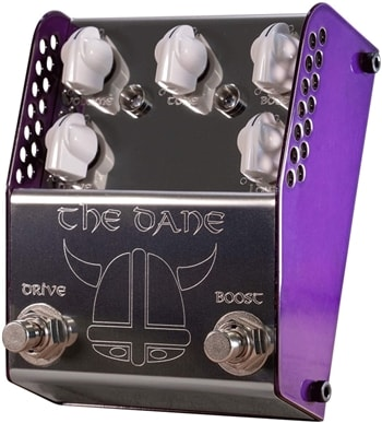 Thorpy FX THE DANE Overdrive and Boost pedal