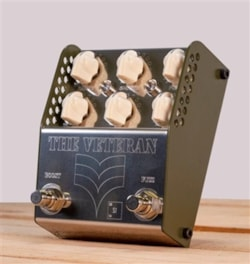 Thorpy FX The VETERAN (Si) Vintage Fuzz and Boost Pedal